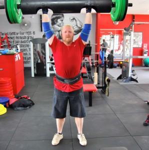 Strongman Group Training log press - Saturday 31May 2014