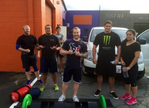 Strongman Group Training - Strength and Conditioning Saturday 31st May 2014