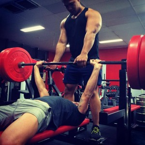 powerlifting and bench press