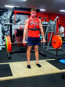 Ryan with 240kgs deadlift