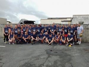 2014 Queensland Strongman Series Finals Group Photo