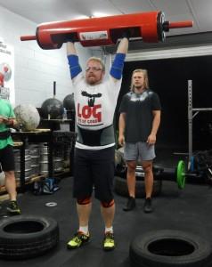 Strongman training wednesday