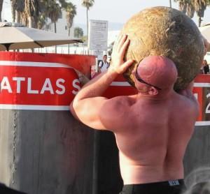 Eben Leroux Australia's Strongest man