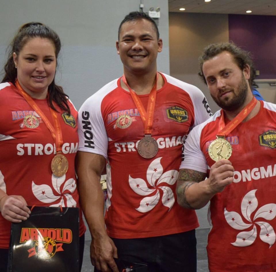 2016 Asian Arnold Strongman Championship- COCO'S TEAM