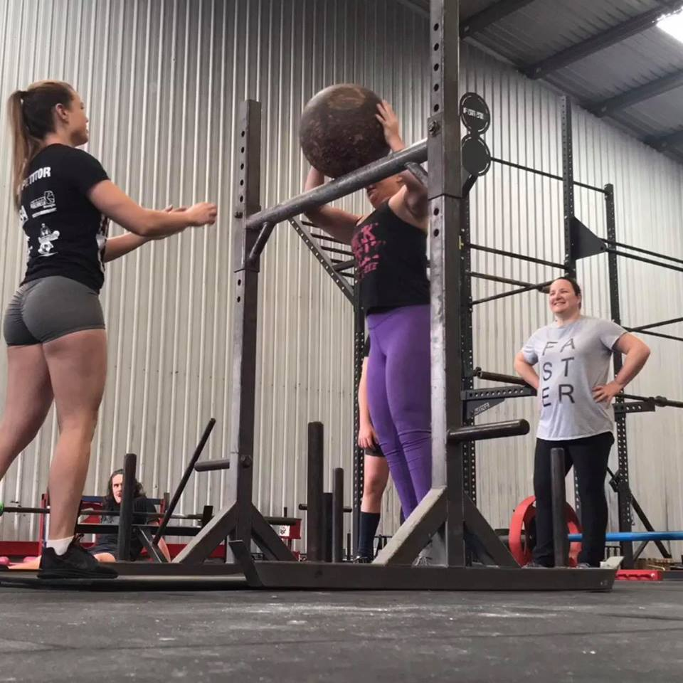 Womens Stongman Group Training